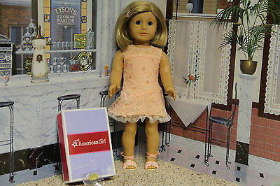 "American Girl ""Shimmer and Lace Party Dress"" - COMPLETE - NIB"