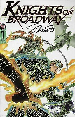 Knights on Broadway No.1 / 1996 Signed by Jim Shooter with Certificate