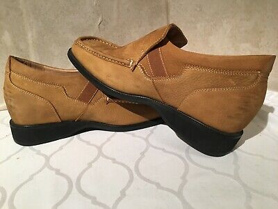 109dee4fdad Toto Mens Elevator Shoes Camel Leather Slip On Size 8