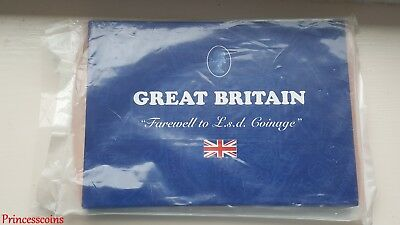 Gb 1956-1967 Farewell To £.S.d 10 Coinage Set In Presentation Case Pack