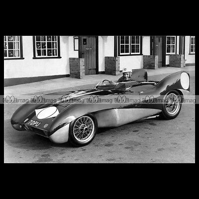 #pha.011575 Photo LOTUS MARK IX 1954-1955 Car Auto