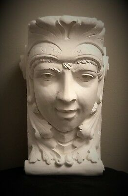 Lady Soldier Wall Corbel Bracket Shelf Architectural Accent Home Decor