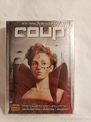 Coup Mame Games Indie Boards and Cards The Dystopian Universe 2012