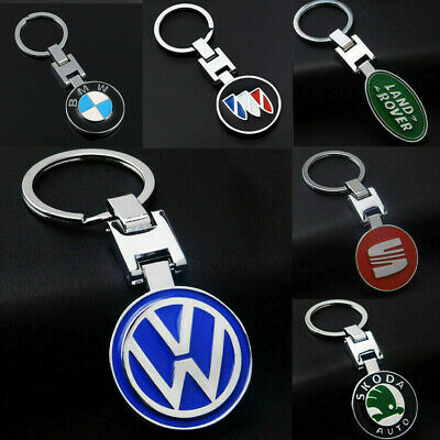 Auto Car Logo Metal Key Chains Pendant Holder Keyring Keychain for Car Models