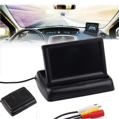 """4.3"""" TFT LCD Car Rear View Rearview System Monitor for Backup Reverse Camera"""