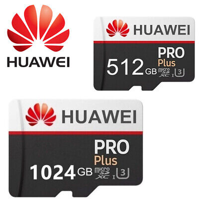 Scheda Sd Huawei Pro Plus 512 1024 Gb Classe 10 Memoria Micro Sd Card Originale