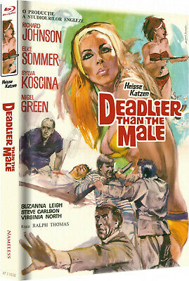 Deadlier Than the Male - Uncut - Limited Mediabook Edition (Blu-ray) NEU&OVP!