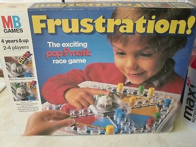 Frustration! Game Spare pieces - 1986