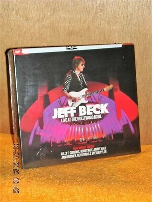 Jeff Beck Live At The Hollywood Bowl (DVD/CD, 2018) NEW live in concert music