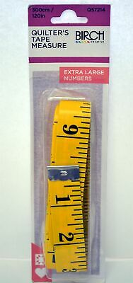 "BIRCH QUILTERS TAPE MEASURE 300cm (120"")"