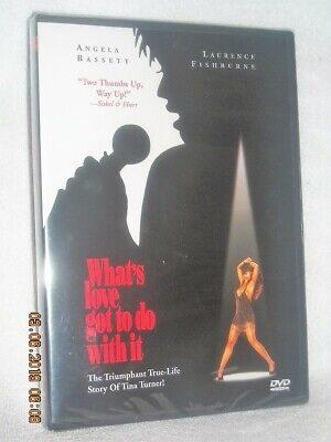 Whats Love Got To Do With It (DVD, 2002) NEW Angela Bassett Tina Turner story