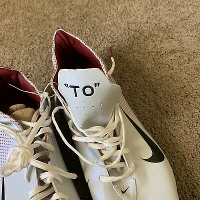 the best attitude b02e0 11a55 NIKE NFL GAME Issued Unused Terrell Owens San Francisco 49ers Shoes Cleats