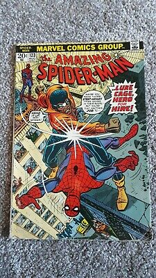 Marvel Comics The Amazing Spider-Man Number 123 - August 1973 - Original