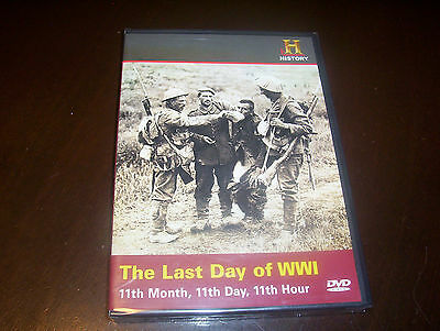 THE LAST DAY OF WWI World War One WW I Trench Warfare History Channel DVD NEW