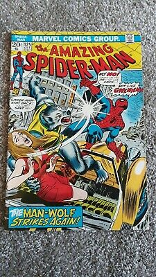 Marvel Comics The Amazing Spider-Man Number 125 - October 1973 - Original