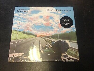 The Chemical Brothers - No Geography Cd New Mint Sealed 2019
