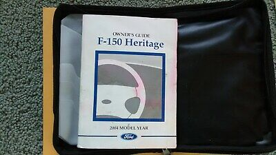 owners manual for 2004 ford f150