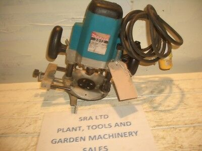 MAKITA 3612 ROUTER 110 VOLT 1650 WATTS 13mm COLLET GUIDE GWO VAT INCLUDED SRA2
