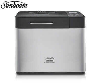 Sunbeam 1L Bakehouse Breadmaker - Stainless Steel