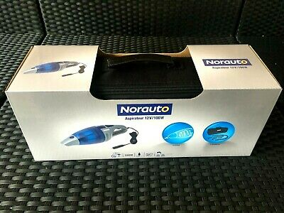 1) Aspirateur cyclonique 12 V NEUF puissance 100 W NORAUTO