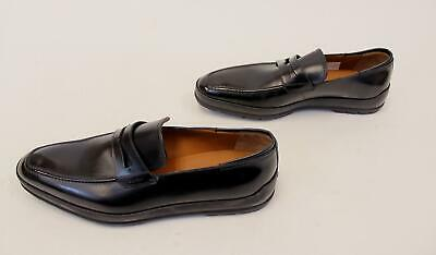 a2ec33b864f BALLY MEN S RELON Smooth Leather Penny Loafer AB3 Black Size US 8.5D ...