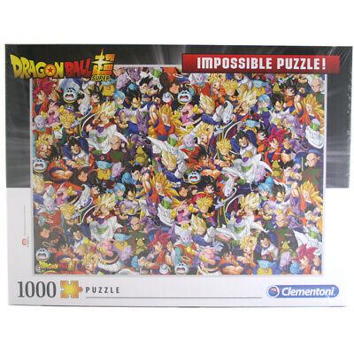 "Clementoni Dragon Ball Super ""Impossible"" 1000 Piece Jigsaw Puzzle - 39489"