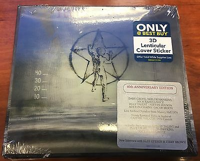 RUSH 2112 40th Anniversary Sealed 2 CD + DVD Limited 3D Lenticular Cover Sticker
