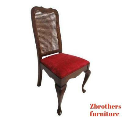 Vintage pennsylvania house Solid Cherry Queen Ann  Dining Room Side Desk Chair.