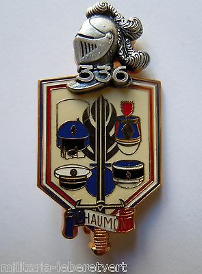 Insigne PROMOTION GENDARMERIE 336° CHAUMONT  OBSOLETE ORIGINAL