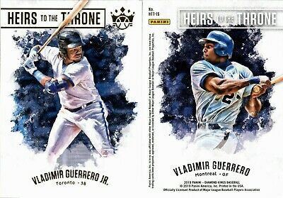 2019 Panini Diamond Kings Heirs To The Throne Insert Singles - You Pick For Set