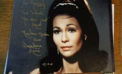 BarBara Luna in Star Trek Marlena in Mirror, Mirror 2002 Autograph  8 x10 NO COA
