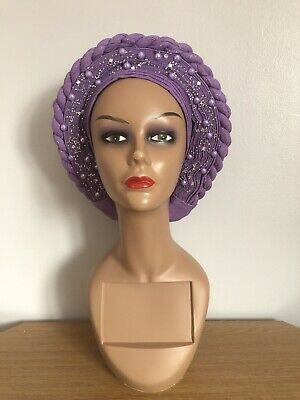New Women African Ready to Wear Auto Gele