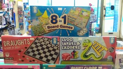 Classic Board Game Family Kids Traditional Folding Board Game Brand New