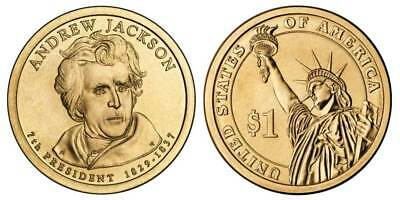 2008 P Andrew Jackson Presidential One Dollar Coin U.S. Mint Money Collectibles