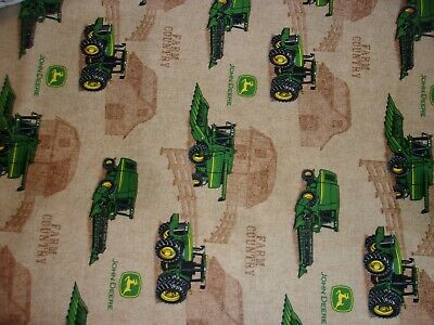 New Hand Made John Deere Farm Country Fitted Crib/Toddler Sheet