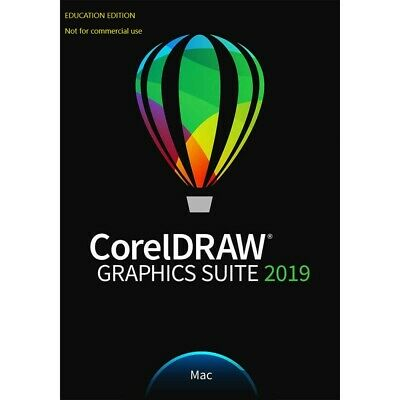 CorelDRAW 2019 for MAC Graphics Suite Corel Draw 2019 Education **BRAND NEW**