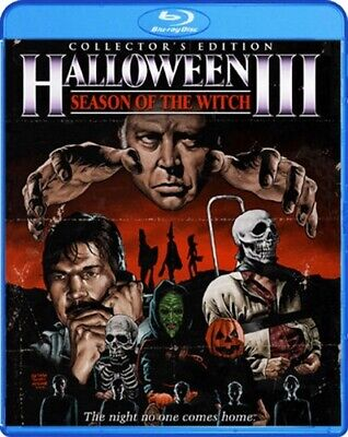 HALLOWEEN III 3 SEASON OF THE WITCH New Sealed Blu-ray Collector's Edition