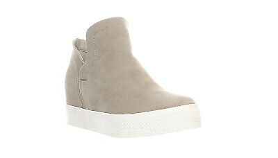 93139677cae STEVE MADDEN WOMEN S Wrangle Wedge Sneaker Taupe Suede NEW IN BOX ...