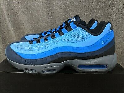 e6dff7d5a0 NIKE AIR MAX 95 ID GREY-BLACK-BLUE SZ 13 (818592-995) Custom ...