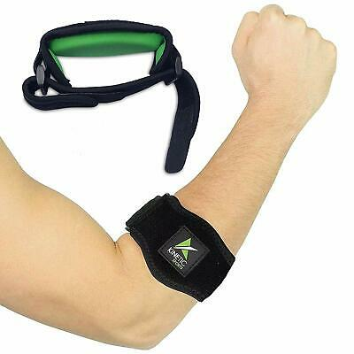 Tennis Elbow Brace with Compression Pad (1 Pack) - Best support for Elbow