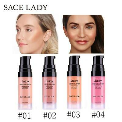 SACE LADY Liquid Blush Makeup Face Rouge Cheek Blusher Long Lasting Cosmetics