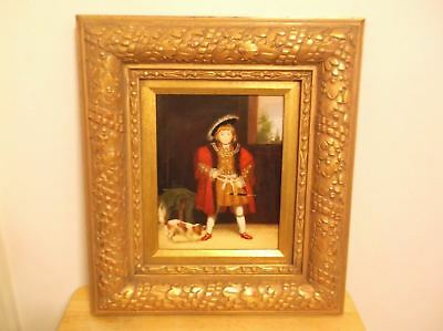 CR) Victorian Era Oil Painting of Master Crewe based on English King Henry VIII