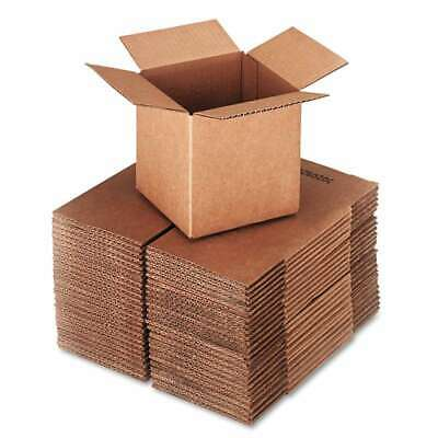 General Supply Brown Corrugated - Cubed Fixed-Depth Shipping Boxe 040036166899