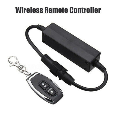 1x Motor Linear Actuator DC Wireless Remote Control DPDT Switch Forward Reverse
