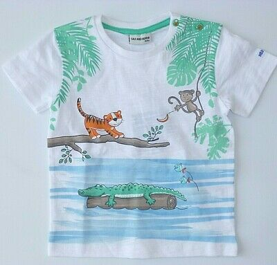 Salt and Pepper Jungen T-Shirt Kurzarmshirt Pirat 74 Neu Musterkollektion