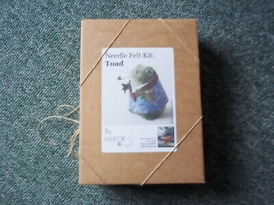 Needle Felt Kit Toad - Making Needle Felted Animals - Craft/sewing - New