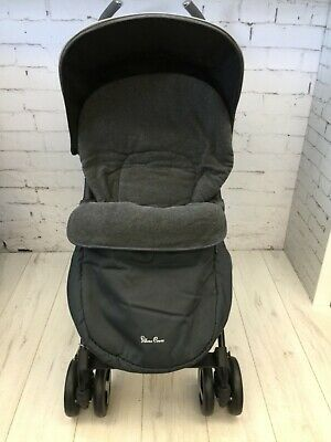 Silver Cross Footmuff Grey Charcoal Skyline Brand New, Stock Clearance