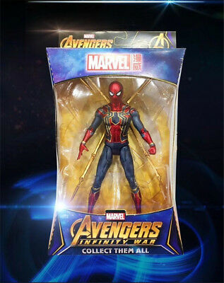 """Marvel Avengers 3 Infinity War Iron Spider Spider-Man 7"""" Action Figure Toy Gift"""