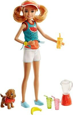 Mattel FHP63 Barbie Sisters Fruit and Juice Stand Stacie Doll
