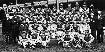 Aston Villa Football Team Photo>1956-57 Season